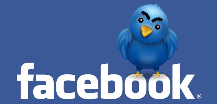 تويتر يسحب البساط من تحت أقدام فيسبوك