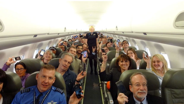 على غرار الولايات المتحدة.. أوروبا تسمح باستخدام الهواتف أثناء رحلات الطيران