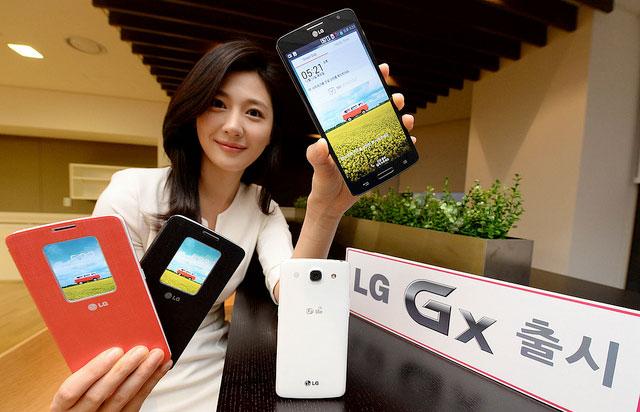 إل جي تطلق هاتف جي إكس بشاشة 5.5 انش