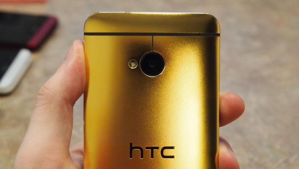 تصميم إتش تي سي وان الذهبي الأفضل في 2013