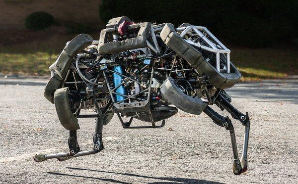 غوغل تستحوذ على شركة لصناعة الروبوتات
