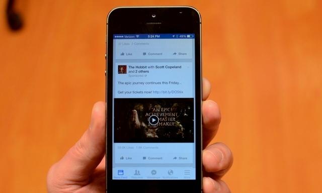 فيسبوك يضيف ميزة التشغيل التلقائي للفيديو