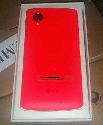 غوغل تعتزم طرح نسخة حمراء اللون من هاتفها نيكسوس 5 لعيد الحب