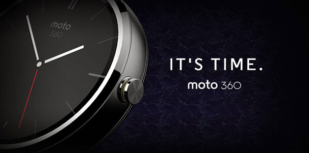 بالصور الكشف عن ساعة موتو 360 الذكية بنظام أندرويد