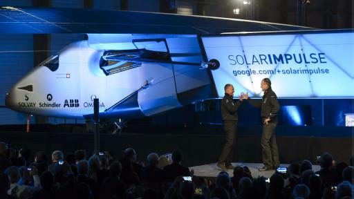 طائرة جديدة تعمل بالطاقة الشمسية