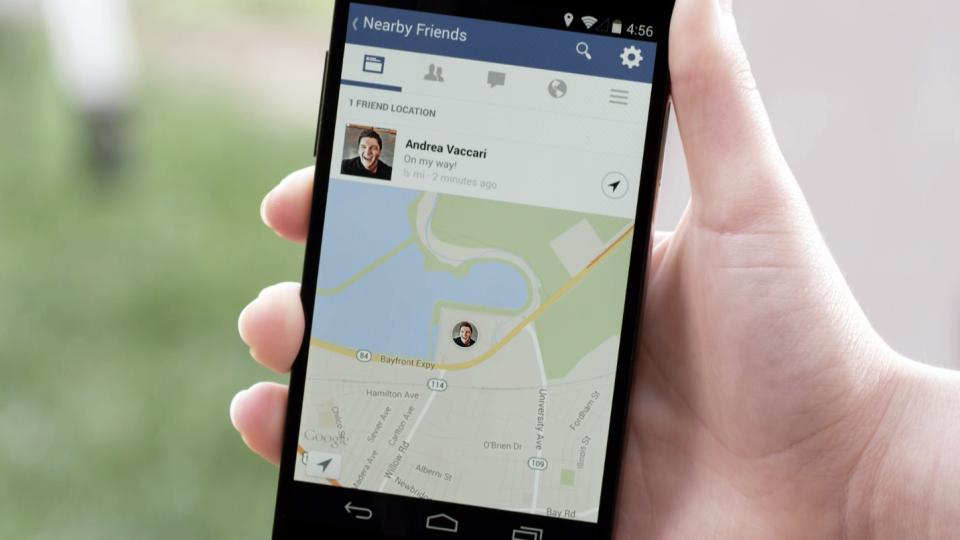 فيسبوك يطلق ميزة للتعرف على الأصدقاء الموجودين في أماكن قريبة