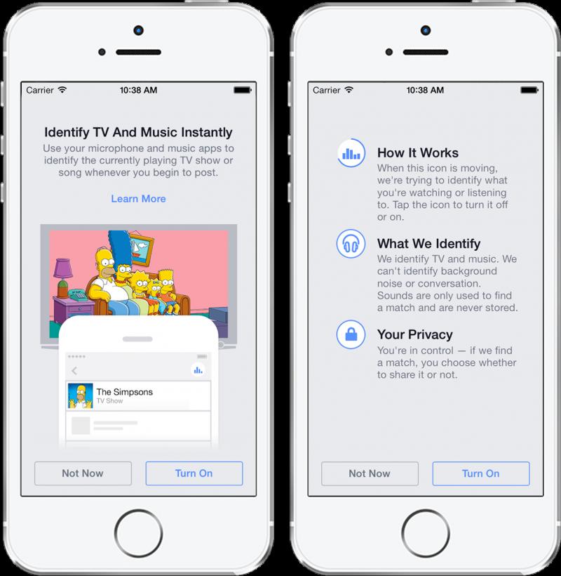قريبا..تطبيق فيسبوك يتعرف على الأصوات المحيطة بالمستخدم