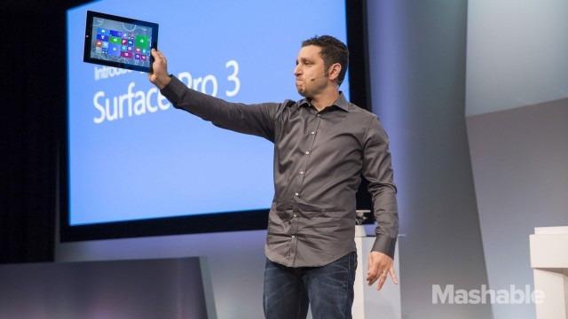1رسميا ..مايكروسوفت تكشف عن الحاسوب اللوحي سيرفس برو 3