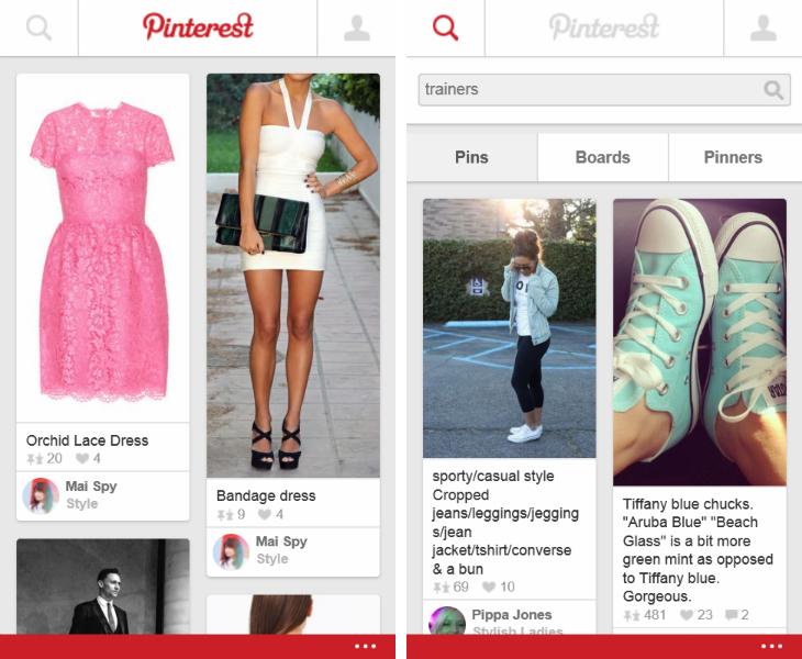 أخيرا .. Pinterest الآن على ويندوز فون