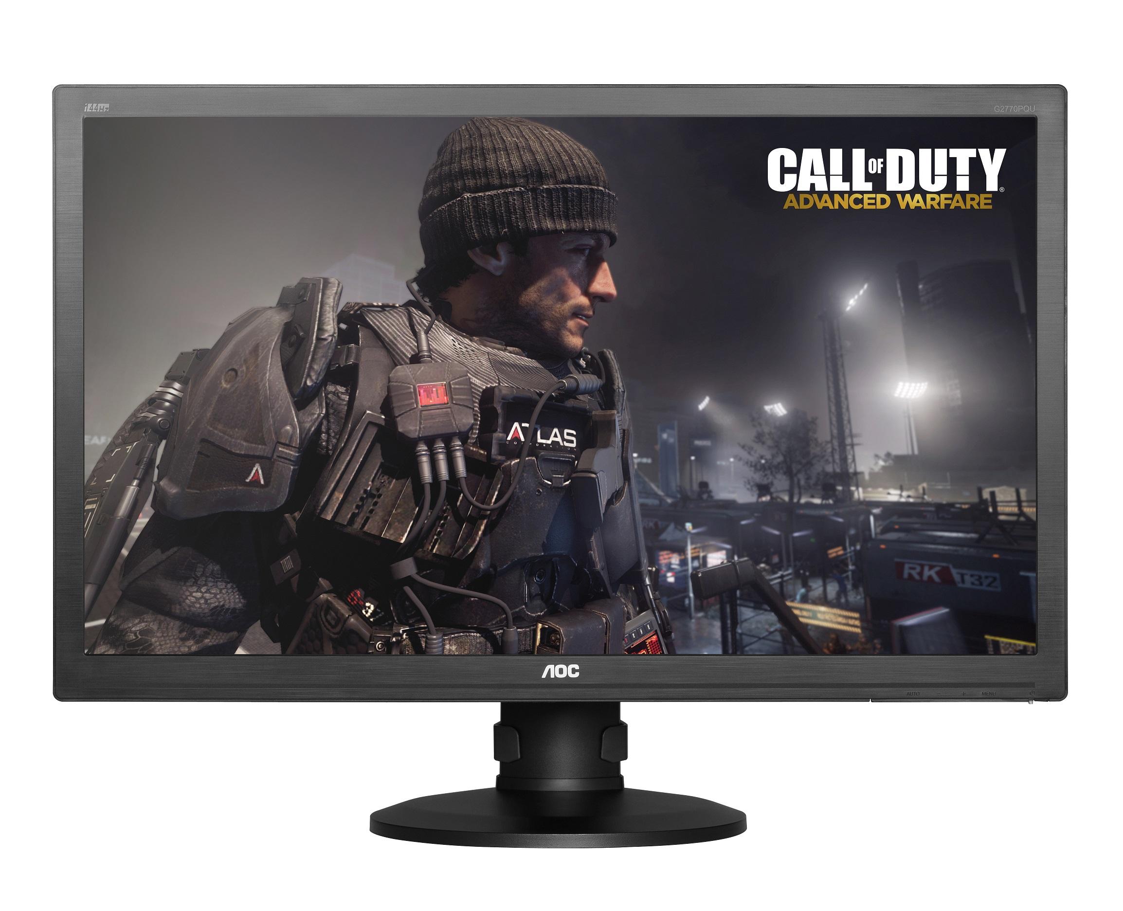 AOC تطلق شاشة مخصصة للألعاب بحجم 27 بوصة