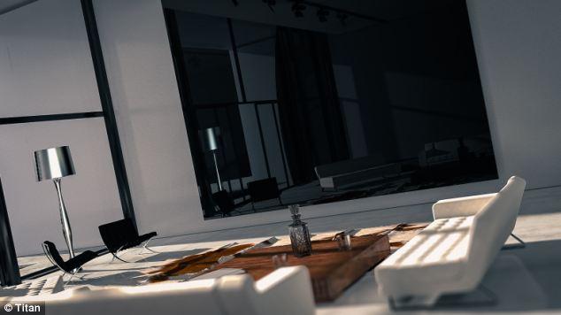 Titan تطلق أكبر تلفزيون في العالم
