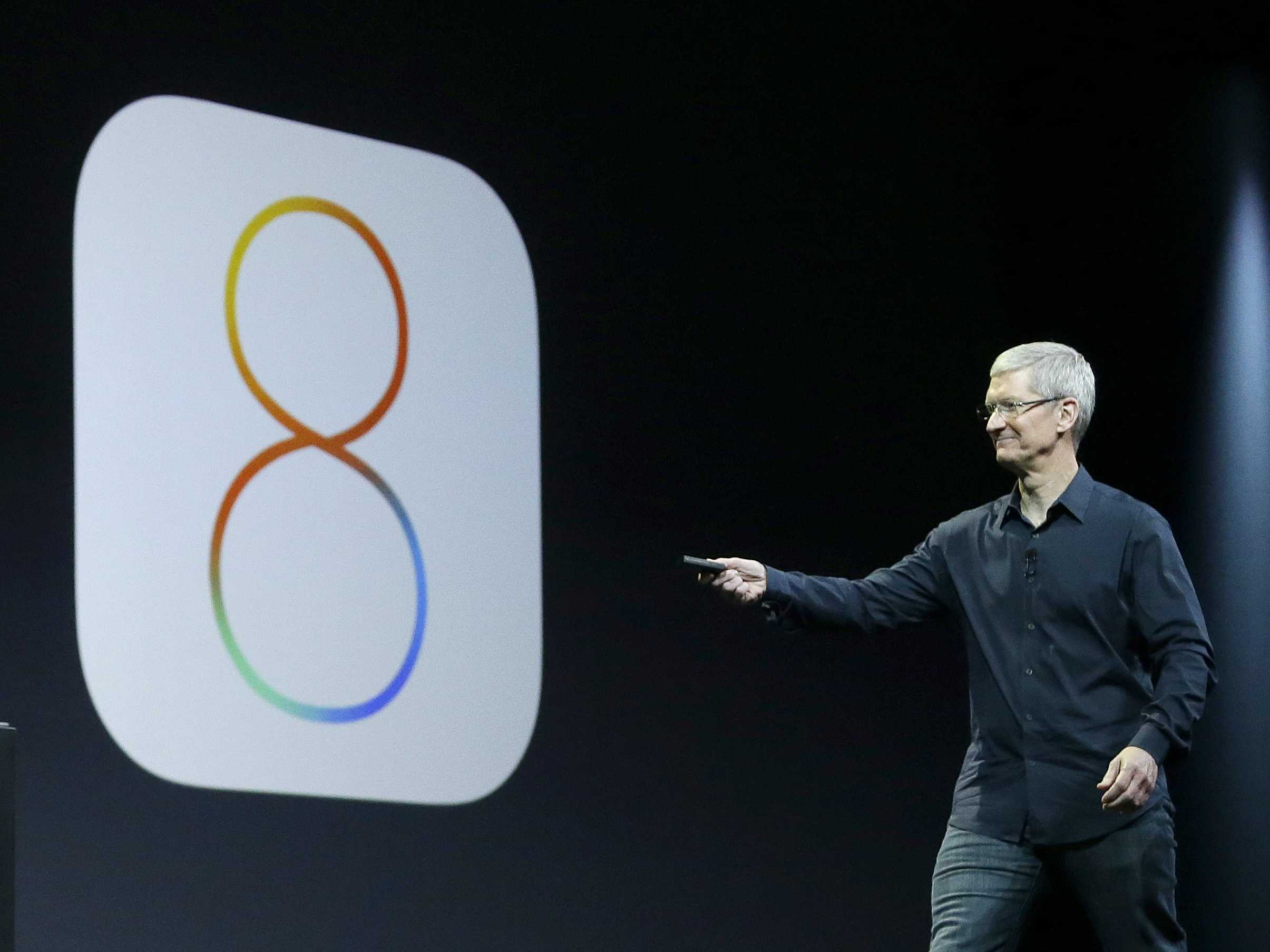 أبل تعالج مشكلة iOS 8.0.1 بتحديث جديد