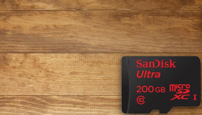 سانديسك تكشف عن بطاقة ذاكرة MicroSD بسعة 200 جيجا بايت