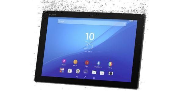 سوني تكشف النقاب عن Xperia Z4 Tablet النحيف الخفيف