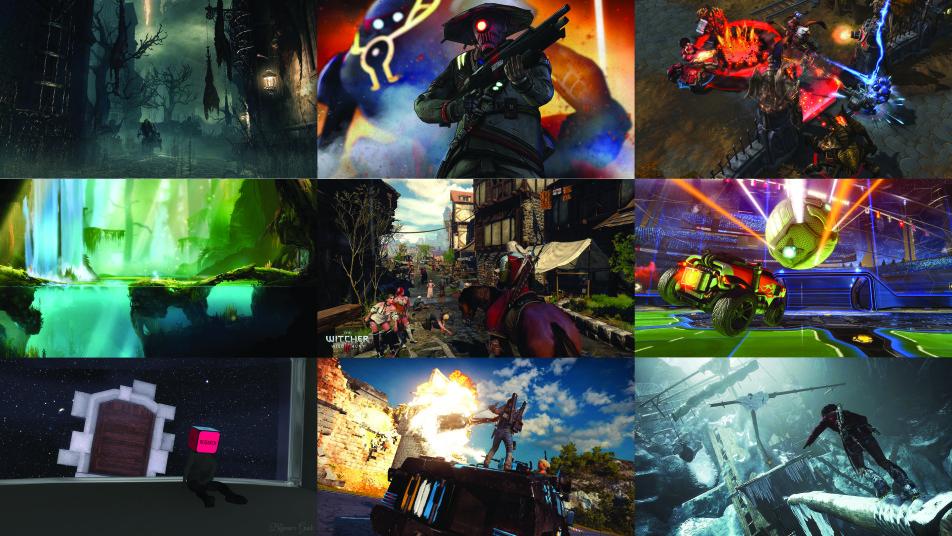 أفضل 10 ألعاب فيديو في عام 2015