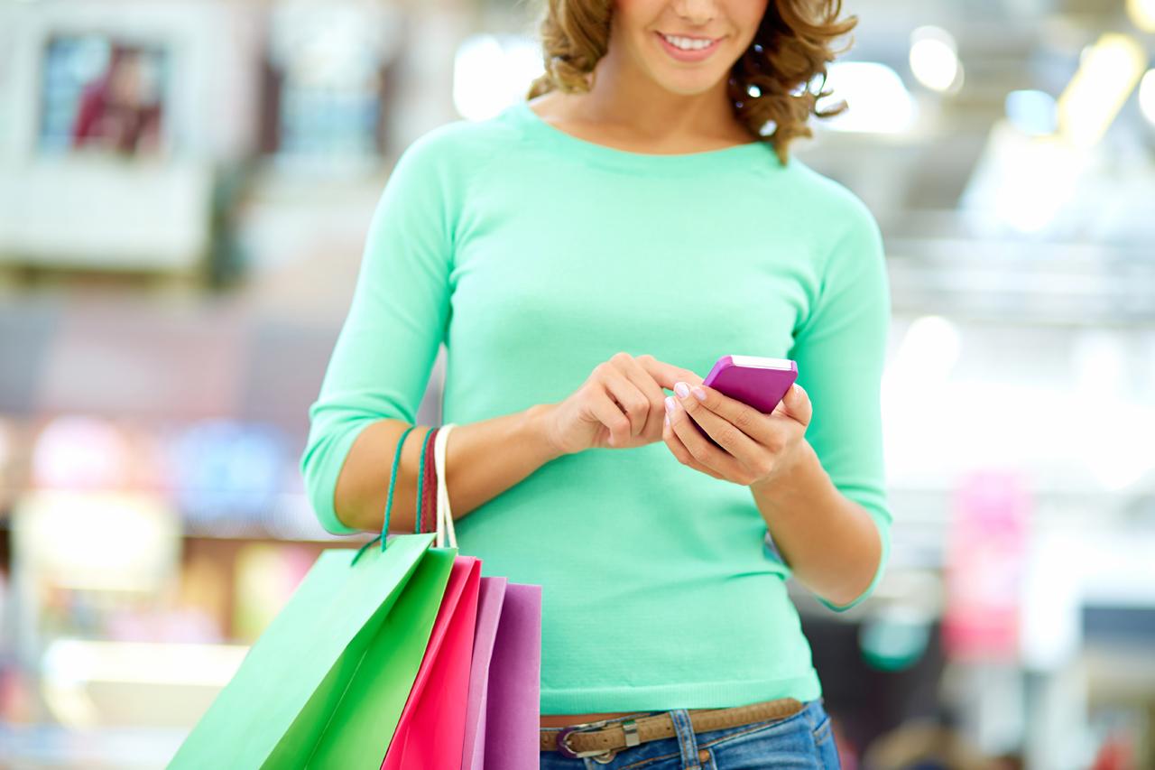 التسوق عبر الهواتف المحمولة يحطم الرقم القياسي في الولايات المتحدة