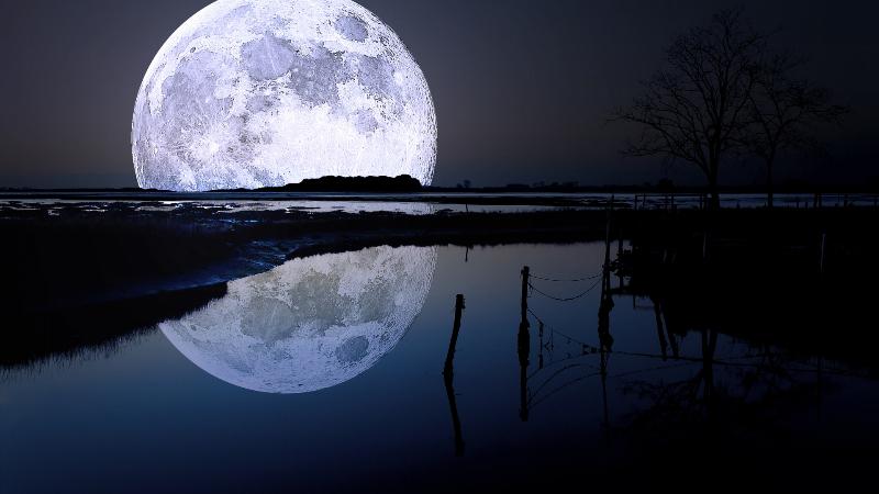 بالصور.. القمر السوبر ظاهرة كونية لن تتكرر قبل عام 2034 .. شاهدوها