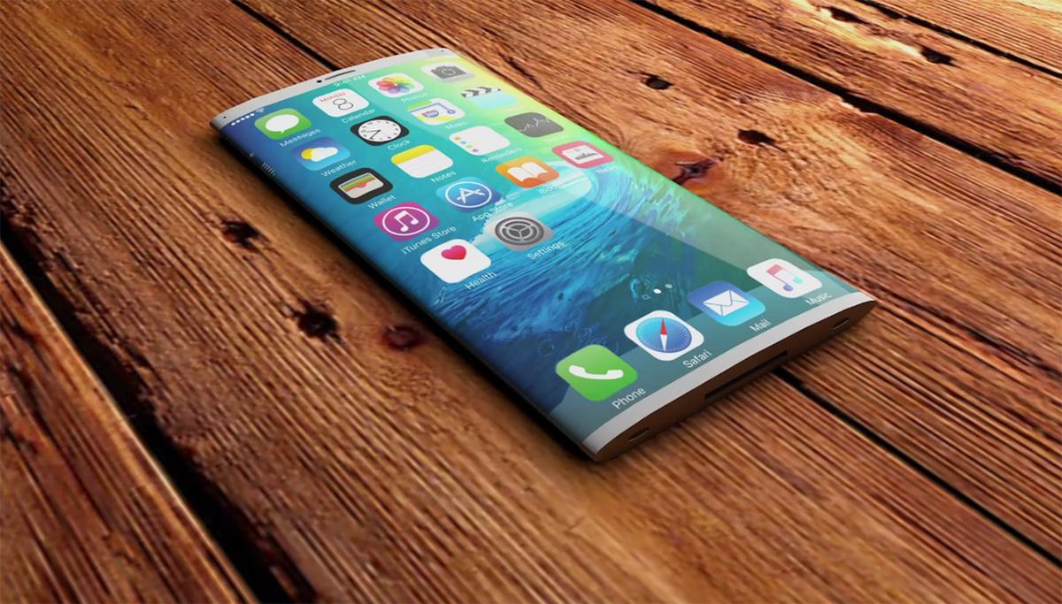 شائعات تشير إلى أن iphone 8 سيأتي بشاشة منحنية