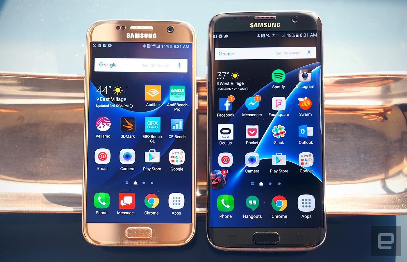 نسخة جديدة من هاتف جالكسي اس7 باللون الوردي... ما رأيك بهذا اللون؟