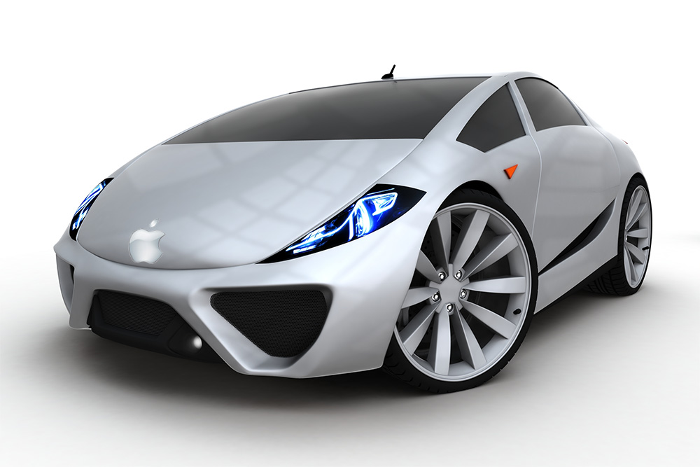 ابل تعود مرة أخرى للاهتمام بالسيارات ذاتية القيادة