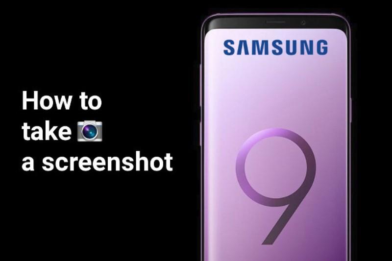 كيف تلتقط صورة للشاشة بجالكسي S9