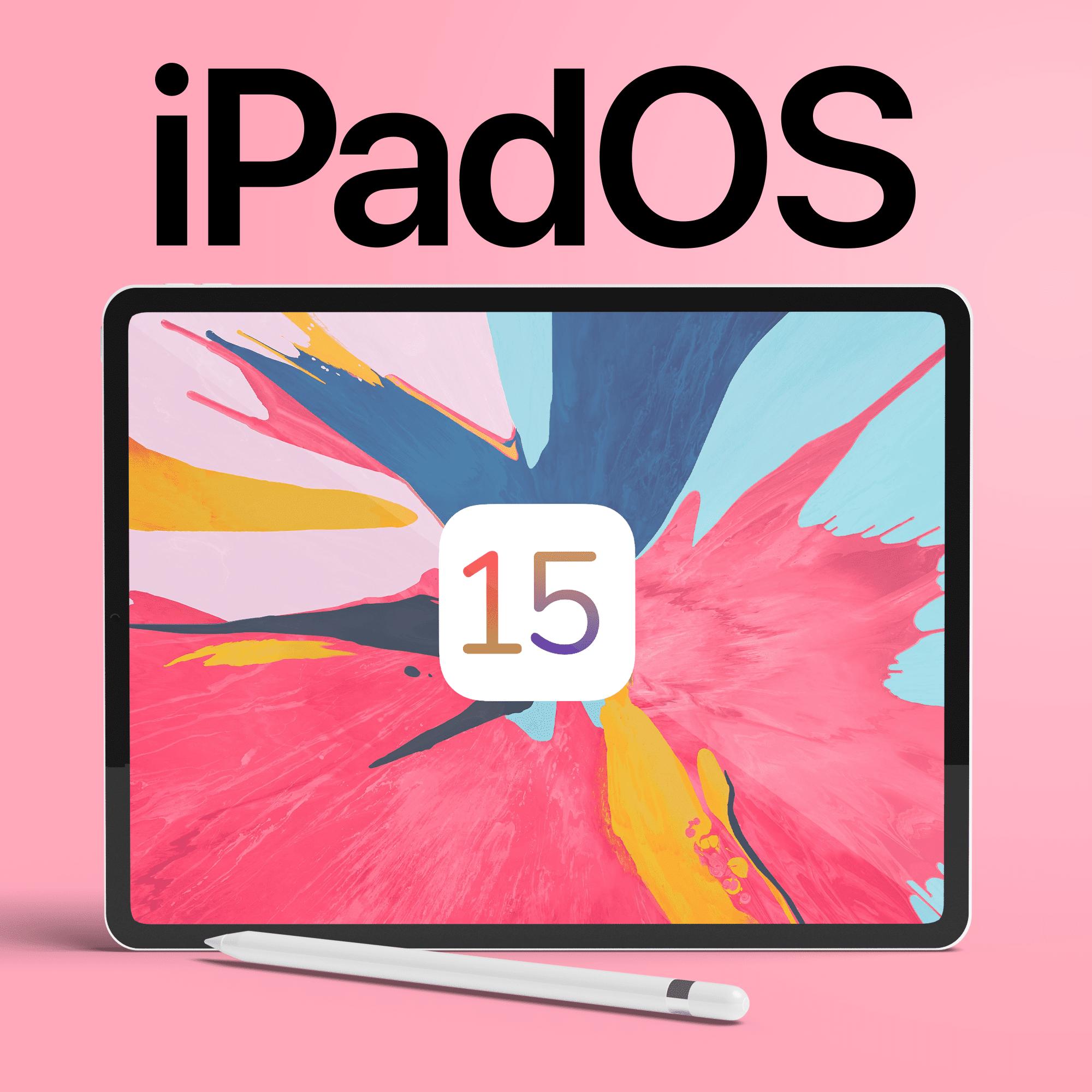 تثبيت الإصدار التجريبي من iPadOS 15