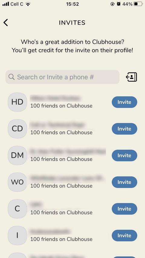 بالخطوات: كيف تدعو شخصًا ما لتطبيق Clubhouse