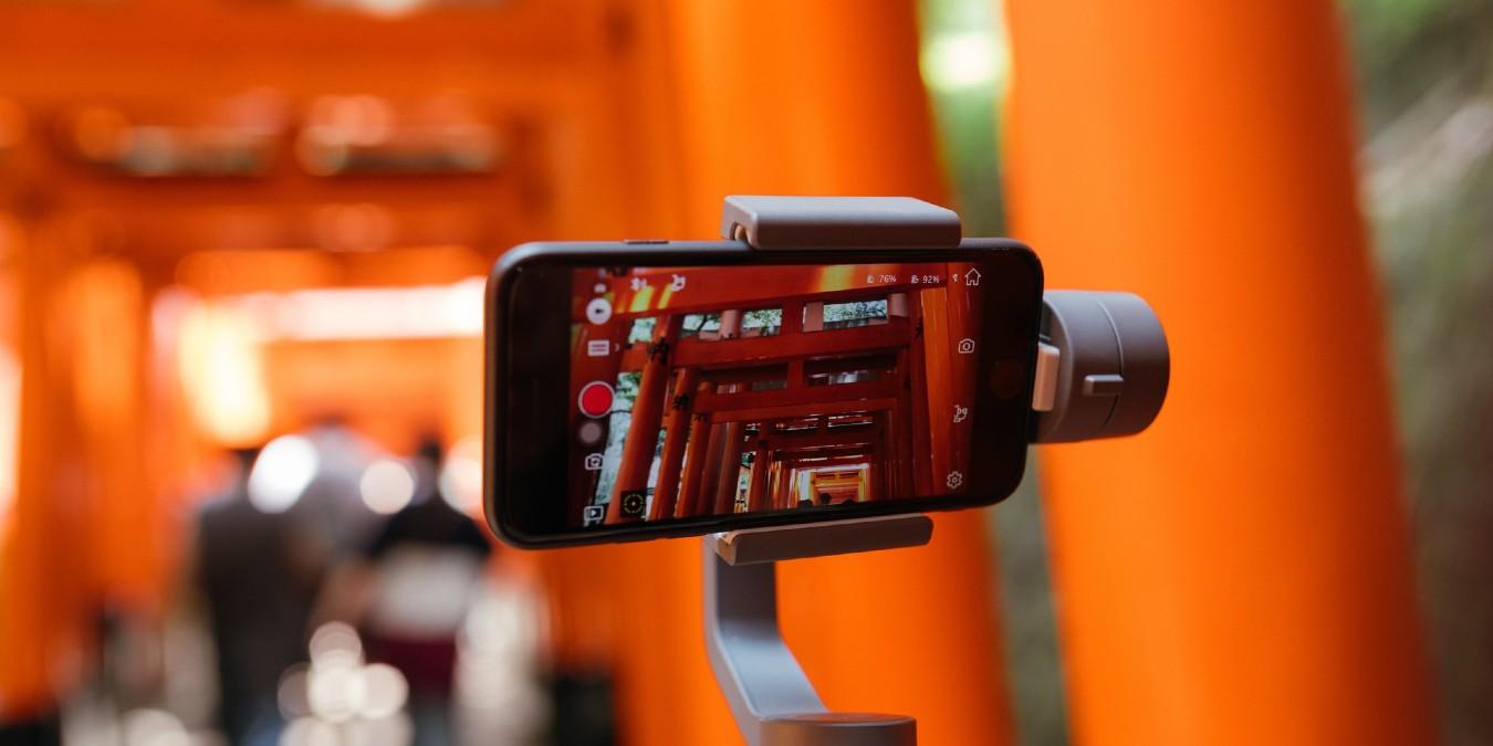 تقليل مساحات مقاطع الفيديو على هاتف آيفون