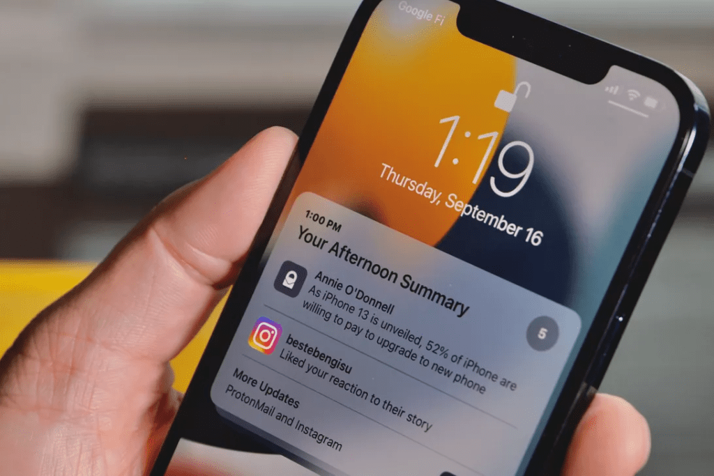 Notification Summary iOS 15