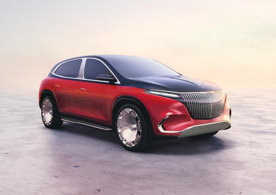 نموذج سيارة EQS من ماي باخ ومرسيدس
