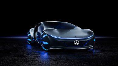 نموذج سيارة مرسيدس فيجن