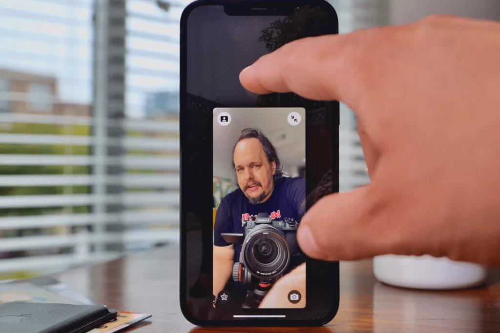 Portrait Mode iOS 15