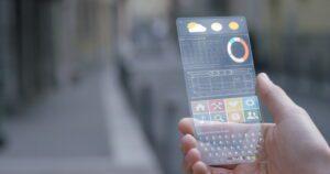 مستقبل الهواتف الذكية الشفافة