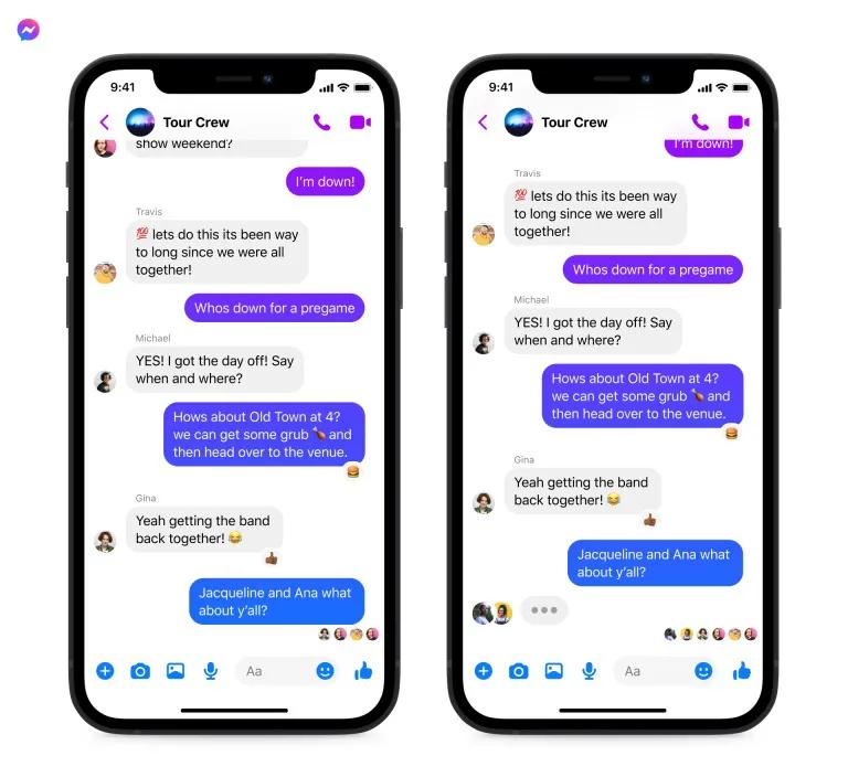 فيسبوك ستتيح إنشاء محادثات جماعية عبر إنستغرام وMessenger