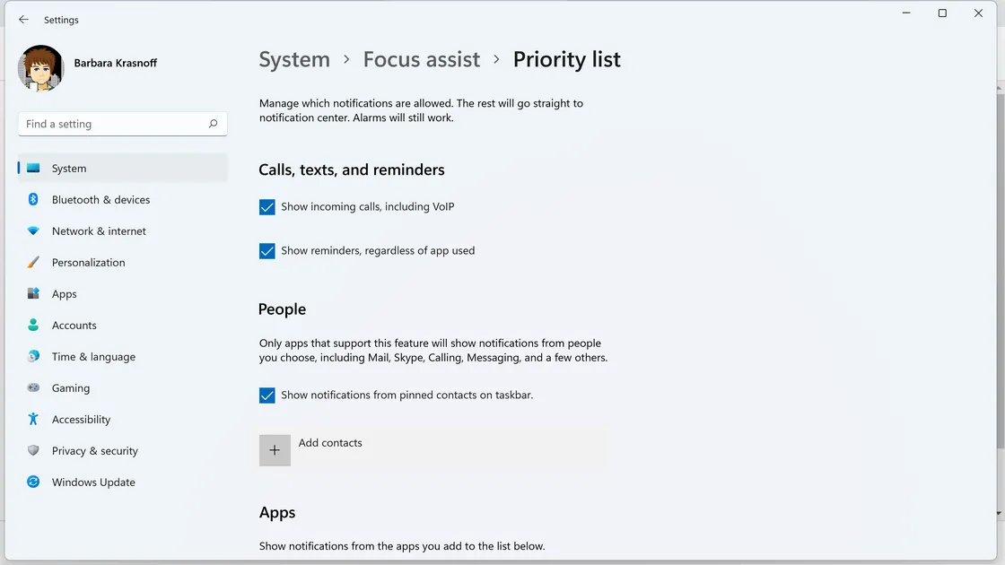 كيف تستخدم خاصية Focus Assist في ويندوز 11