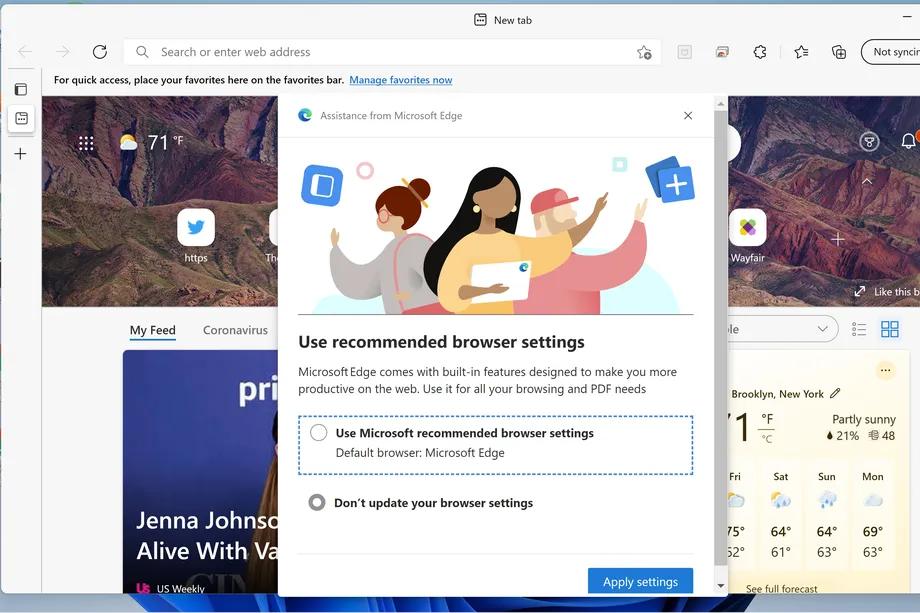 كيف تقوم بتغيير المتصفح الافتراضي في ويندوز 11؟