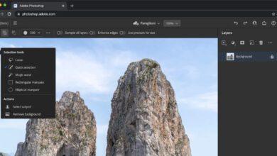 فوتوشوب اون لاين.. تعديل الصور على الإنترنت أصبح متاحا من Adobe مباشرة