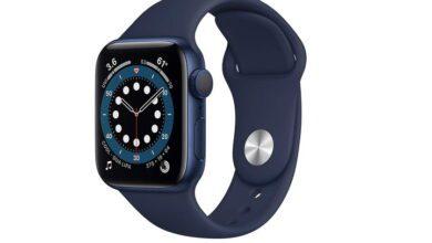 أبل تطرح تخفيضات هائلة على Apple Watch Series 6
