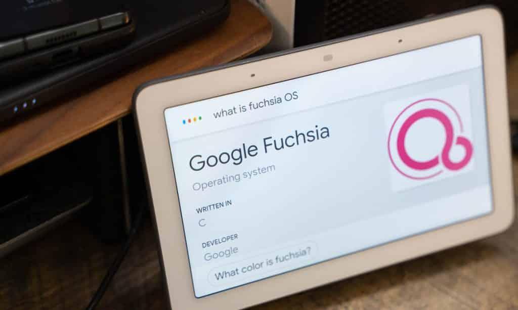 جوجل تخطط طرح نظام فوشيا الجديد لأجهزتها المنزلية