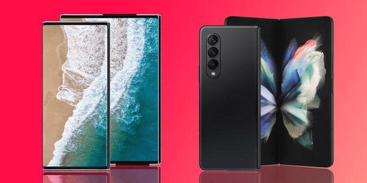 مقارنة بين الهواتف القابلة للطي والقابلة للف: أيهما أفضل؟