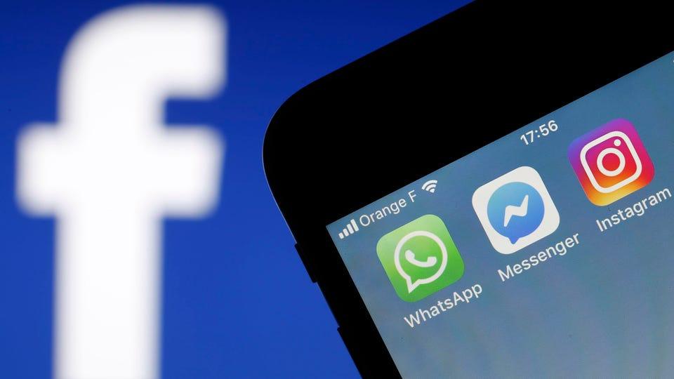 عودة تطبيقات واتساب وفيسبوك وإنستغرام للعمل