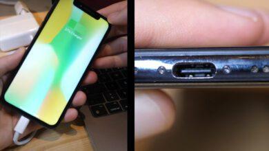 بالفيديو: أول هاتف آيفون بمنفذ USB-C